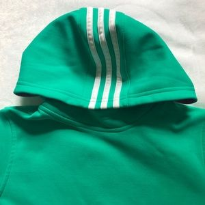 ffc9b313a7c adidas Shirts   Tops - Girls Adidas hoodie size 10   12
